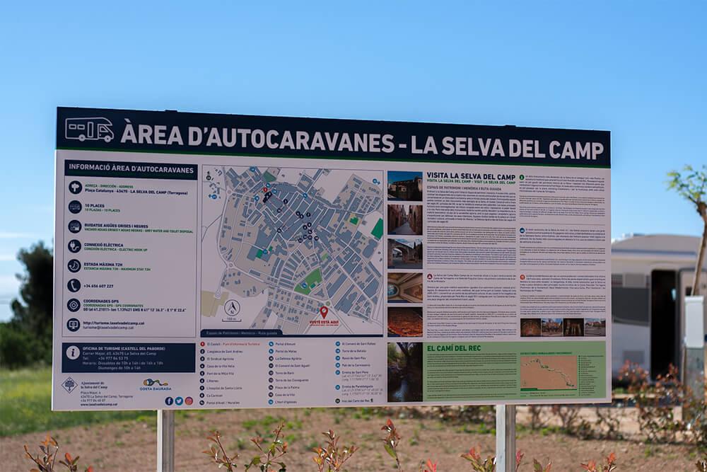 Área de autocaravanas de La Selva del Camp