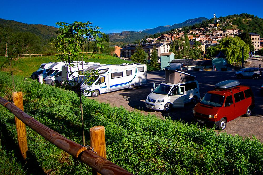 Área de autocaravanas de Martinet