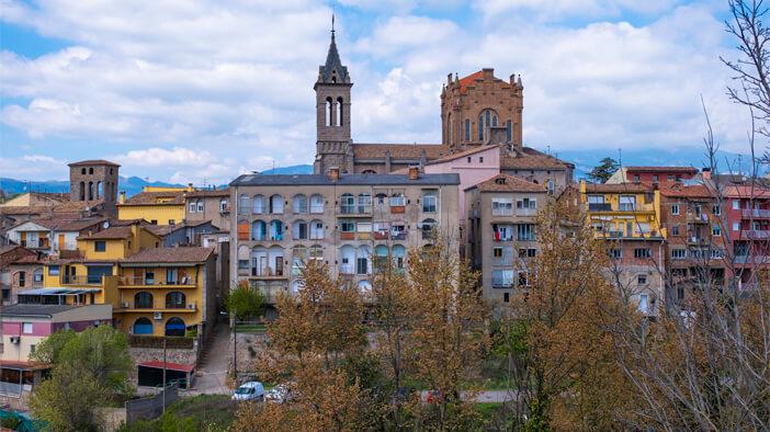 Área d'autocaravanes de Gironella